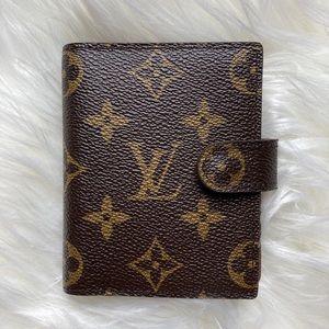 Louis Vuitton Monogram Snap Front Wallet